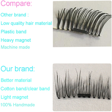 Your own brand makeup magnetic false eyelashes