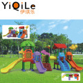 Newest outdoor combination slider plastic sliding toys plastic slide set for kids