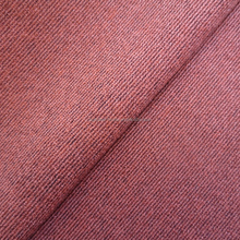 cationic polyester fabric cross stripe two tone color velvet linen fabric for upholstery curtain sofa