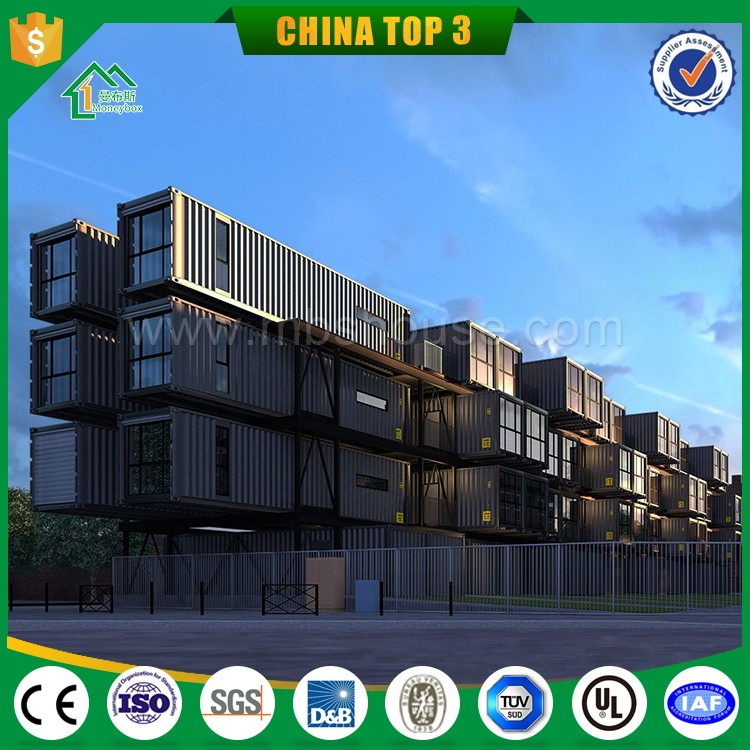 Modern Prefab container office sale in France /Eco movable prefabricated container house /prefab shipping container homes price