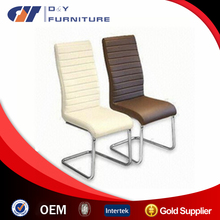 hot sell chromed leg matel dining chair
