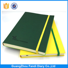Personalized Leather Cover Notebook Customized Engraved Printing