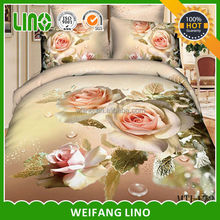 bedding set sofa cover sheet/cotton fabric for bed sheet in roll/luxury wedding bedding set