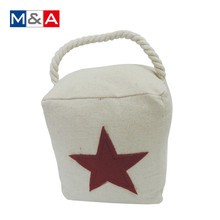 Creative beautiful star decorative door draft stopper