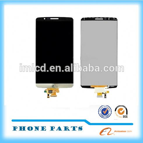 New packing lcd display touch digitizer for lg g3 with high quality