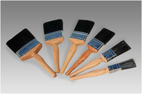 paint brush set chimney brush bristle piant brush with wooden handle