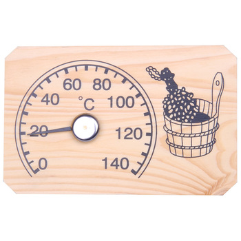 Wooden Sauna Thermometers and Hygrometer