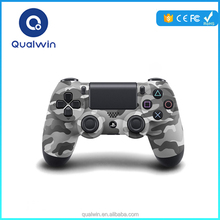 Army Green Qualwin Retail Package Wireless Gaming Controller PS4 Bluetooth Gamepad For Compatible Phone