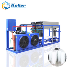 Koller companies production 3tons/day block ice pop making machine with r22a for fishing