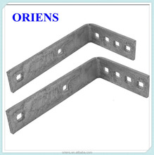Custom heavy duty carbon steel angle bracket