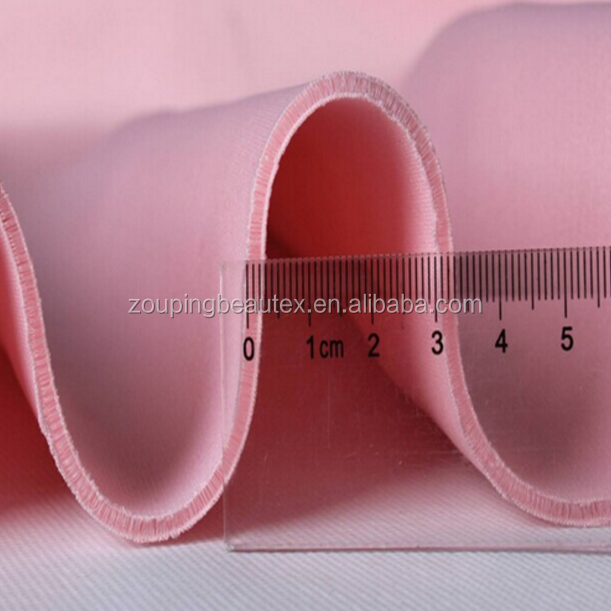 Wholesale 90% polyester /10% spandex spacer scuba mesh fabric for textiles