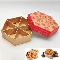 Food dessert packing corrugated folding packaging box