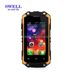 Rugged IP65 Smartphone small size mobile phone toy low resolution cell phone