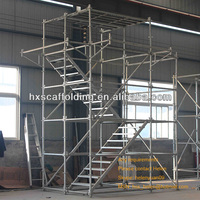 Oil and Gas Refineries modular ringlock scaffolding
