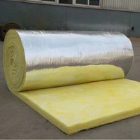 Wholesale Products Lowest Price Foam Insulation Glass Wool Blanket / Roll with Aluminum Foil foil thermal isolation fiber