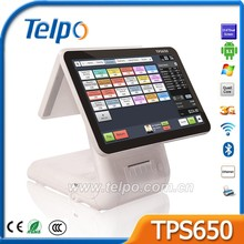 New Design Desk computer pos system with printer/barcode scanner/camera/wifi/msr