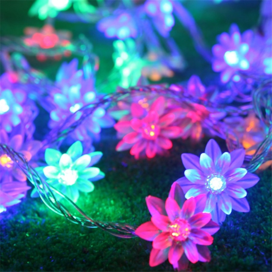 Cheaper price!!!houses decorated multicolour RGB led christmas light (50LEDs-5M)