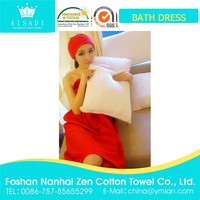 Wholesal Custome bath robe/dress with high quality and 100% Cotton materials