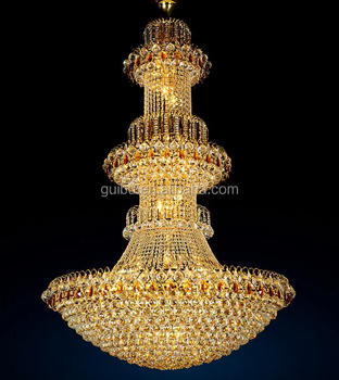 Wholesale Classical Crystal Chandelier Lighting for Stair Hall