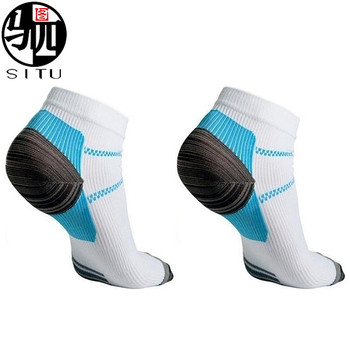 Sport Veins Socks Plantar Absorbing Sweat Running Socks for Plantar Fasciitis Arch Pain