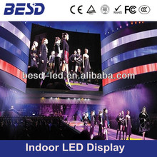 P6mm full color high definition fashion show indoor led screen