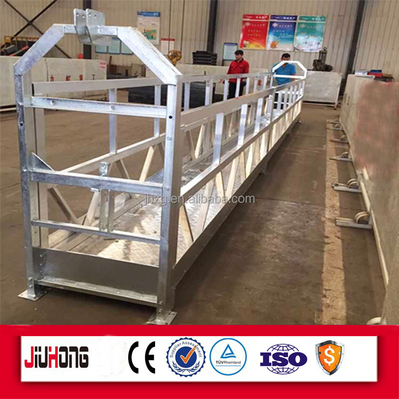 CE Gost approved 2017 hot sale zlp630 zlp800 zlp1000 electric suspended platform gondola cradle 15years production experience