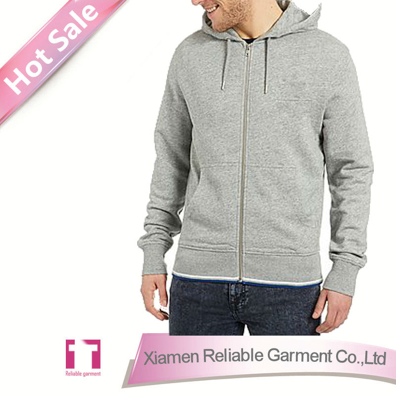 2015 new fashion men jean hoodie jacket/ custom printed zip up hoodies