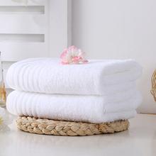 Wholesale Bulk Customized Size Cheap Thin White 100% Organic Cotton Hotel Face Towels With Logo