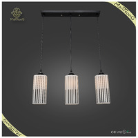 Best selling product 3 lights white lamp shades latest cheap interior decor modern pendant light for dining room
