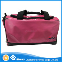 made in China brand name polyester travel bag for women day carry bag sports bag