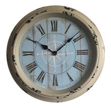 Living room decoration antique retro quartz wall clock