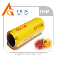 High quality and transparent best fresh casting Jumbo roll cling film 1000-2500m