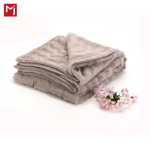 king size-vanity living luxury Faux fur mink throw blanket -faux fur fabric