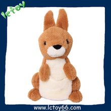 2016 New design plush electronic animal toy educational talking toy