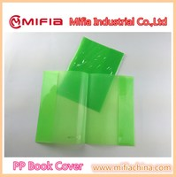 MIFIA wholesale cheap plastic waterproof book covering sheet for school notebook