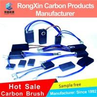 Carbon Brushes for Starter bsx124 BOSCH 1-007-014-100 MERCEDES A000-151-13-14 6/12 V