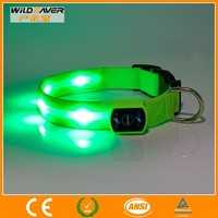 Flashing bright yellow LED light remote Dog Collar / usb flash drive/CE and ROHS are approval