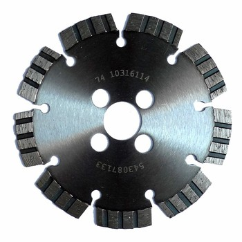 Ultimate diamond tuck pointing cutting blade for angle grinders for removing all types of mortar from mortar joints