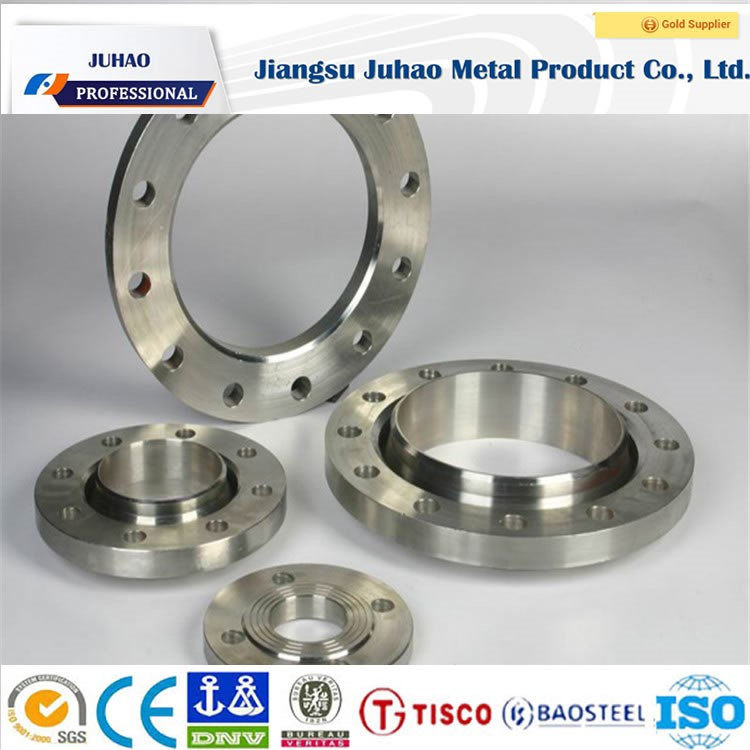 forged stainless steel tapped flanges Q 195