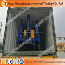 10m height truck mounted articulating boom lift,mobile boom lift,trailer work platform