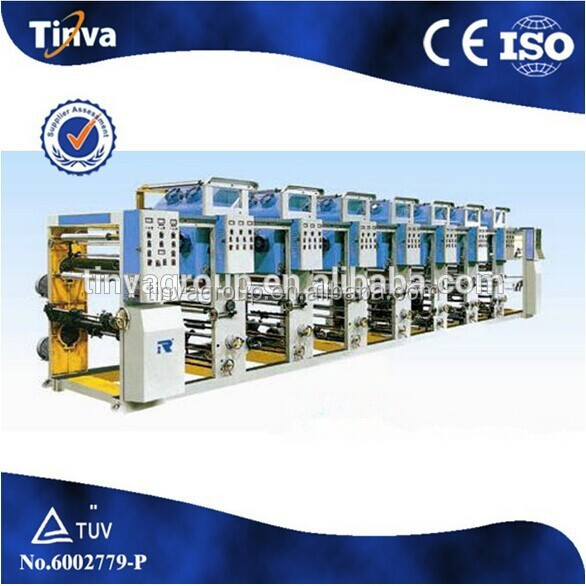 China supplier with advantage of simple operation Plastic Film Economical Gravure Printing Machine