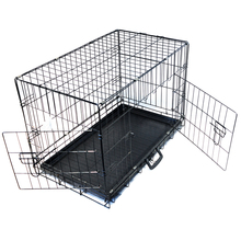 galvanized dog carry-on outdoor cages