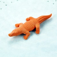 Farm Crocodile Toys Erasers For Kids Japanese School Girl Sexy