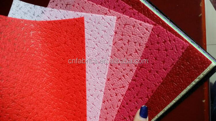 Embossed non woven fabric for flower wrapping, wall paper, table cloth, decoration