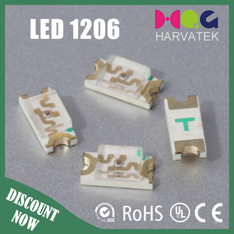led red componets 1206 smd led light