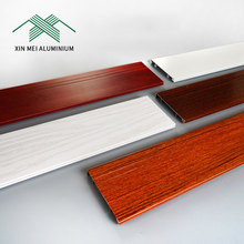 OEM New Technology Hardware Cheap Outdoor Decorative Wooden Wall Aluminium Flooring Skirting Board