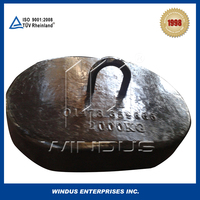 Best price cast iron mooring sinker anchor buoy