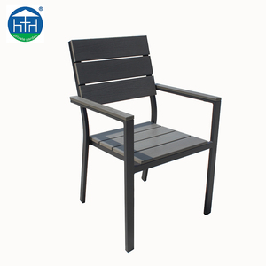 Useful Aluminum Outdoor Garden Chair Plastic Wood Polywood Dining chair