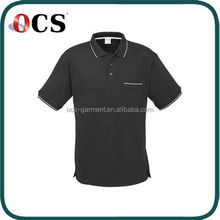 High Quality Men's Fresh Color custom fit polo shirts