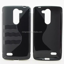 S line style mobile phone TPU case for LG L Bello D335 D331